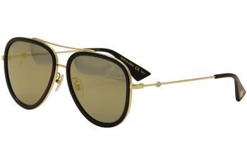 Gucci Women s GG0062S GG 0062 S Pilot Sunglasses e693a5e291