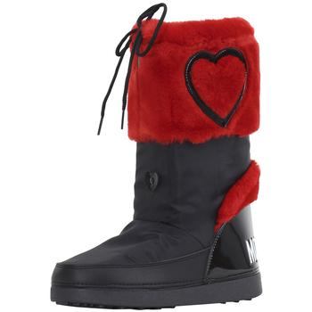 Love Moschino Women's Heart Winter Snow Boots Shoes UPC: