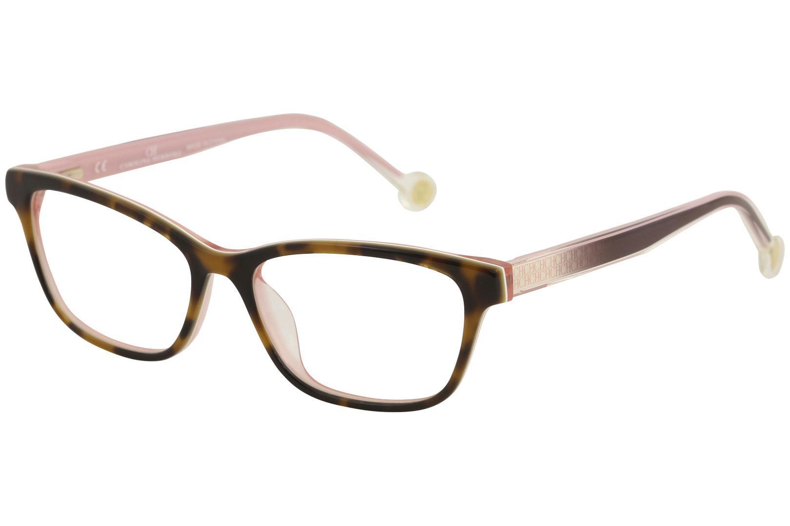 CH Carolina Herrera Women's Eyeglasses VHE725K VHE/725K Full Rim Optical Frame