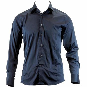 TR Premium Men's TR-572 Slim Fit 100% Cotton Button Down Dress Shirt  UPC: