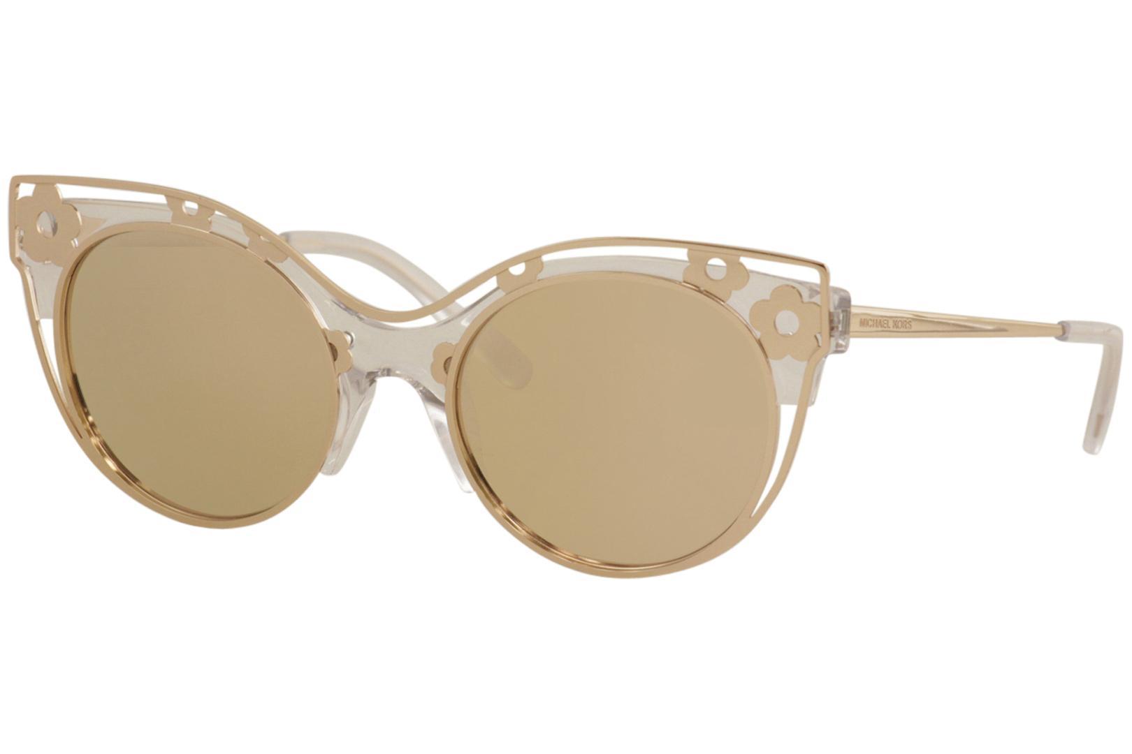 44efaae52878 Michael Kors Women's Melbourne MK1038 MK/1038 Fashion Cat Eye Sunglasses by Michael  Kors. Touch to zoom
