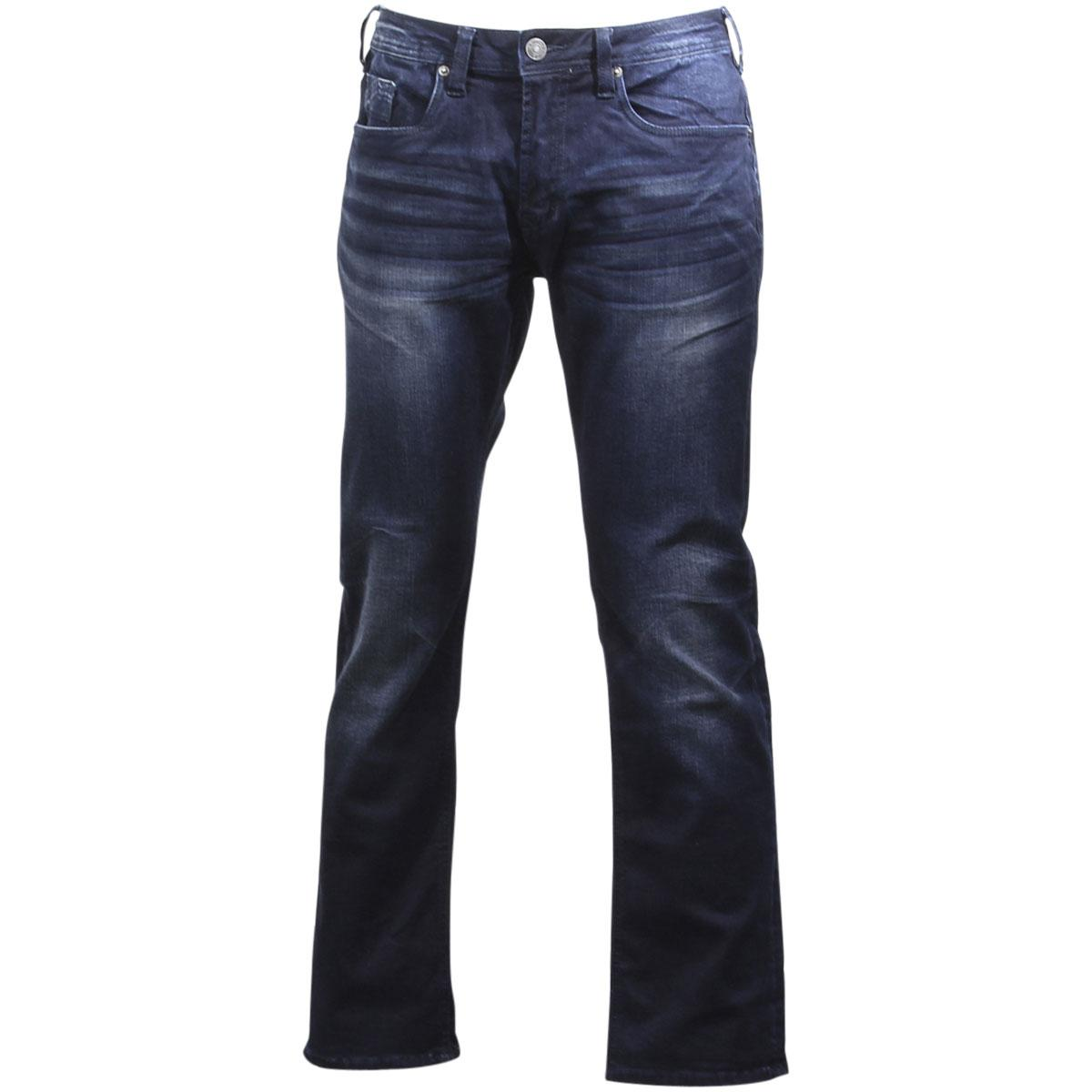 Buffalo By David Bitton Men's Evan-X Slim Straight Super Stretch Jeans