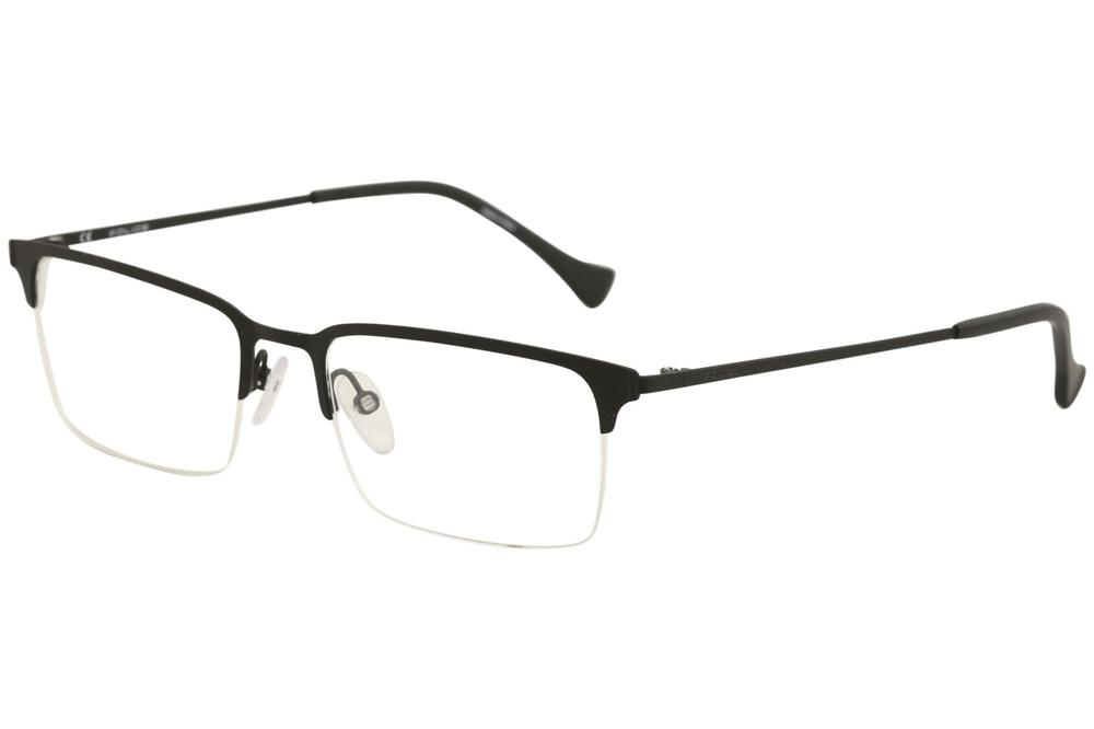 3231a7eb80 Police Men s Eyeglasses Score 2 VPL290 VPL 290 Half Rim Optical ...