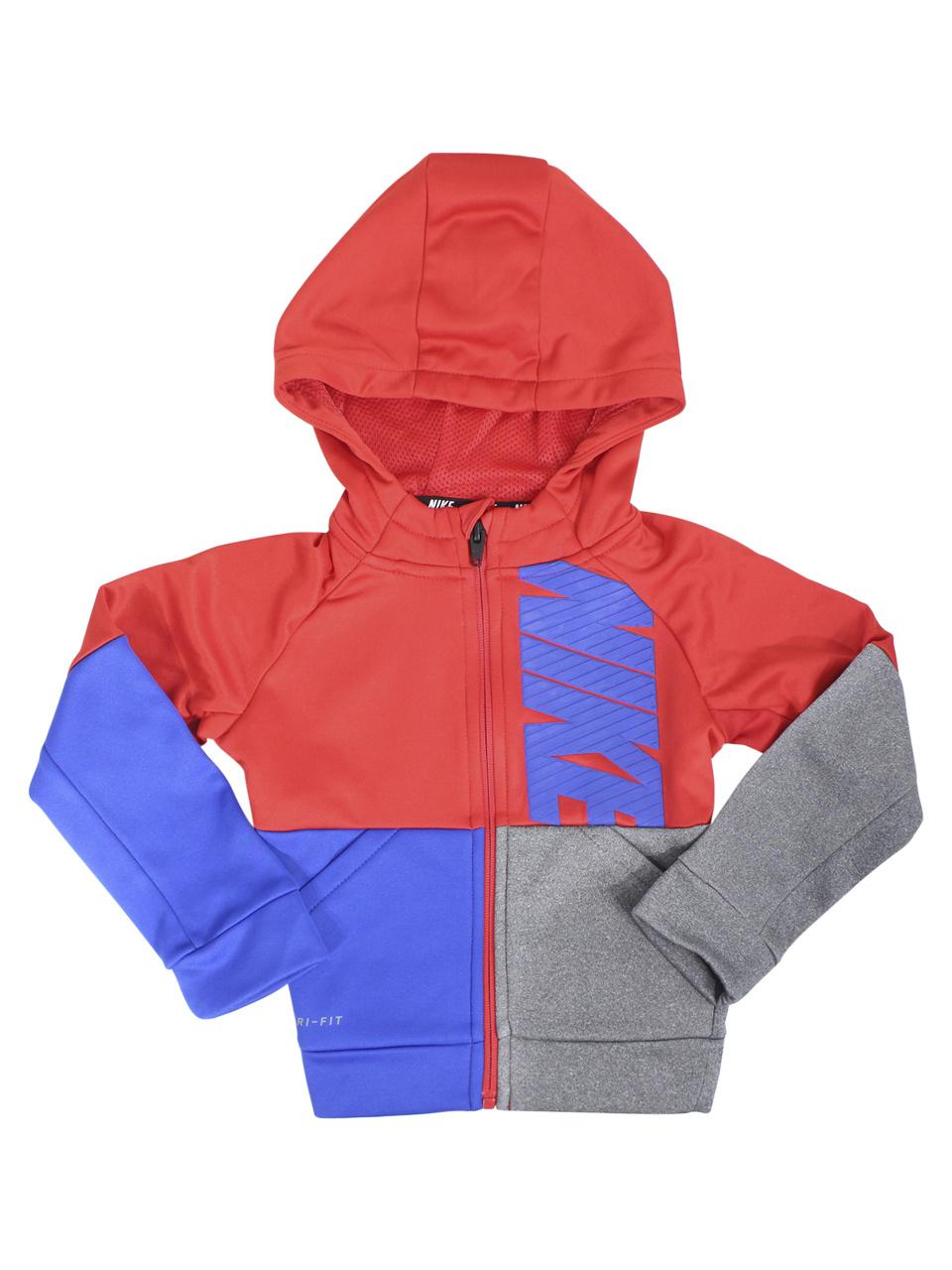 f237cd5a Nike Toddler Boy's Therma Zip Front Hooded Sweatshirt