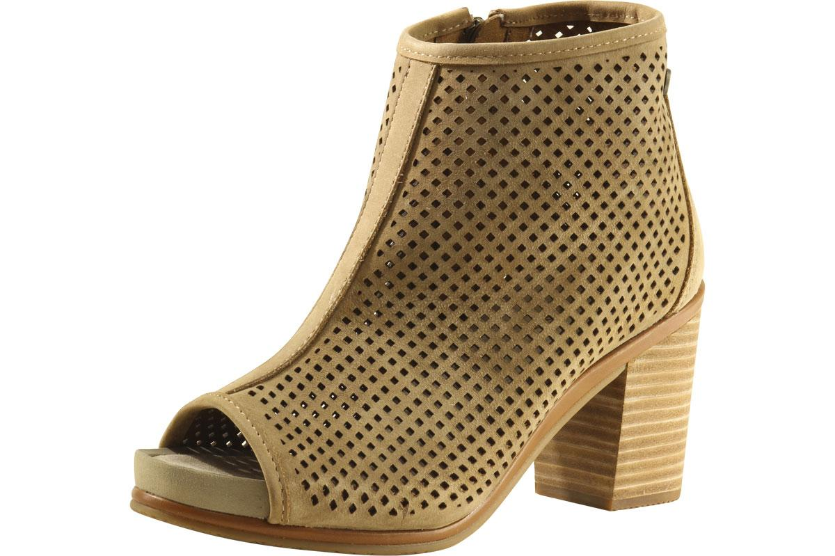 best prices laest technology innovative design Hush Puppies Women's Reyna Mariska Open-Toe Ankle Boots Shoes