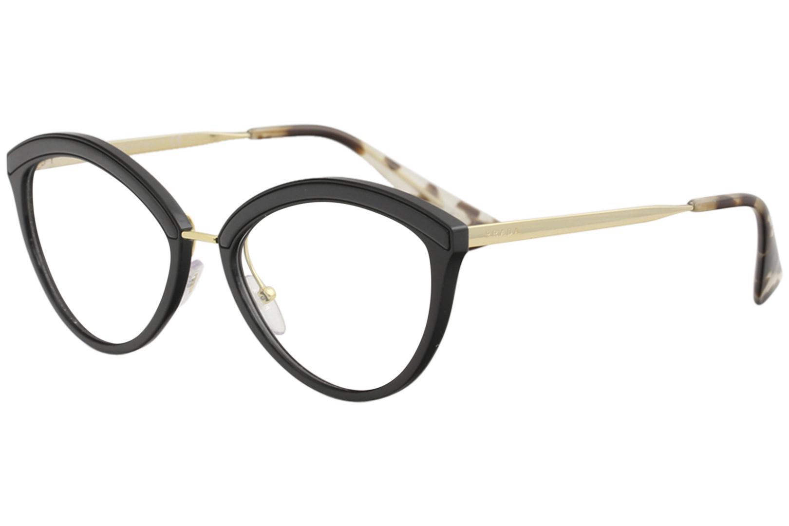 9dbbad4f061 Prada Women s Eyeglasses VPR14U VPR 14U Full Rim Optical Frame