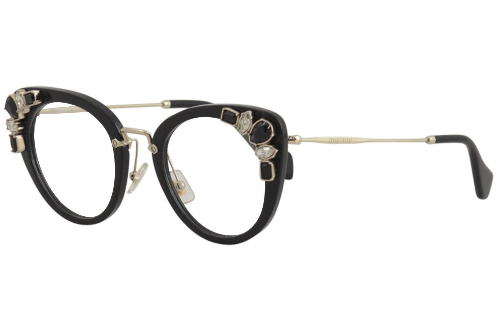 Miu Miu Women\'s Eyeglasses VMU05P VMU/05P Full Rim Optical Frame