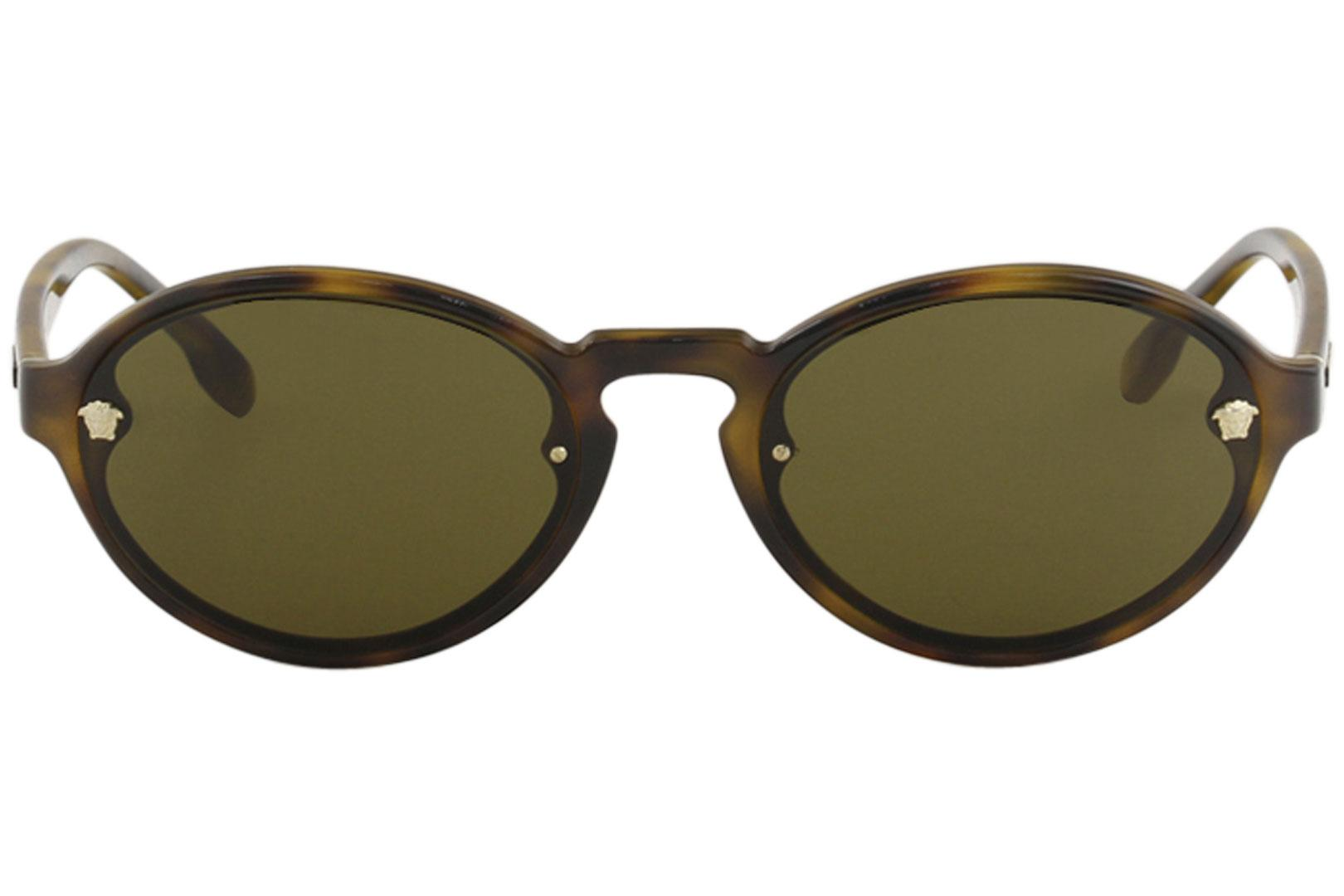 9580a5a6aed6e Versace Women s VE4352 VE 4352 Fashion Oval Sunglasses by Versace. 12345