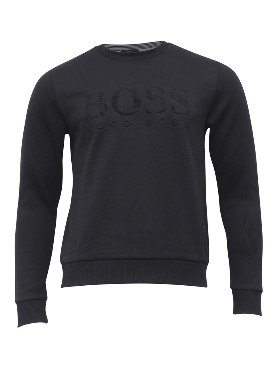 f3e2fba0ee Hugo Boss Men's Salbo Slim Fit Crew Neck Sweatshirt by Hugo Boss