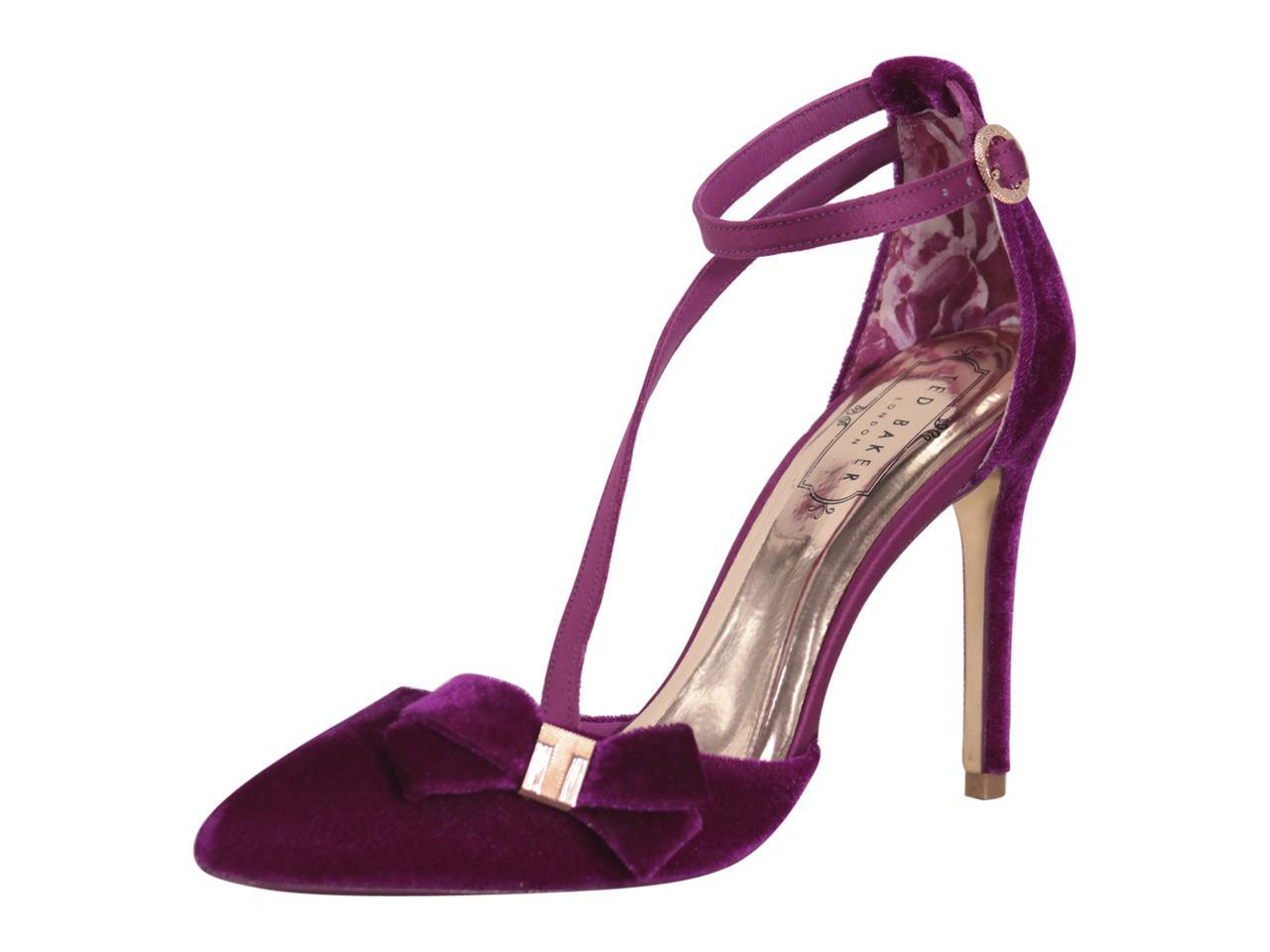716e61deae Ted Baker Women's Juleta Velvet Pumps Heels Shoes