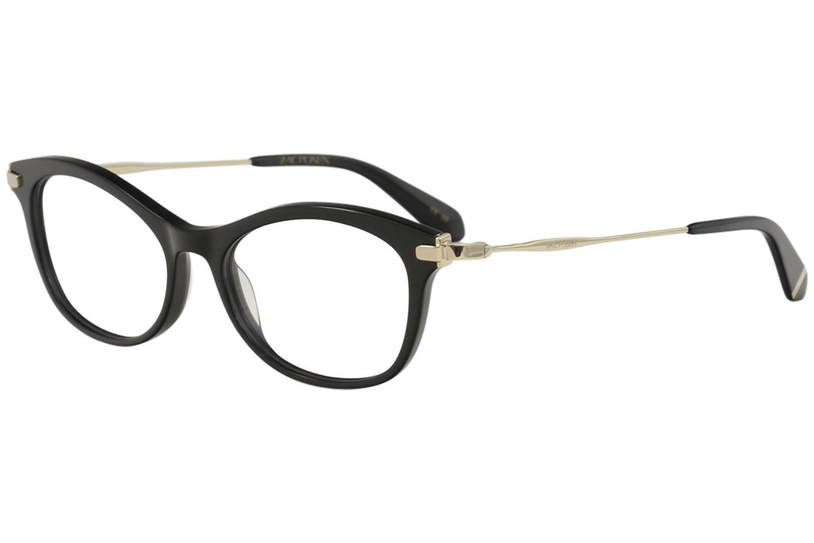Image of Zac Posen Women's Eyeglasses Amilie Full Rim Optical Frame - Black -  Lens 52 Bridge 17 Temple 140mm