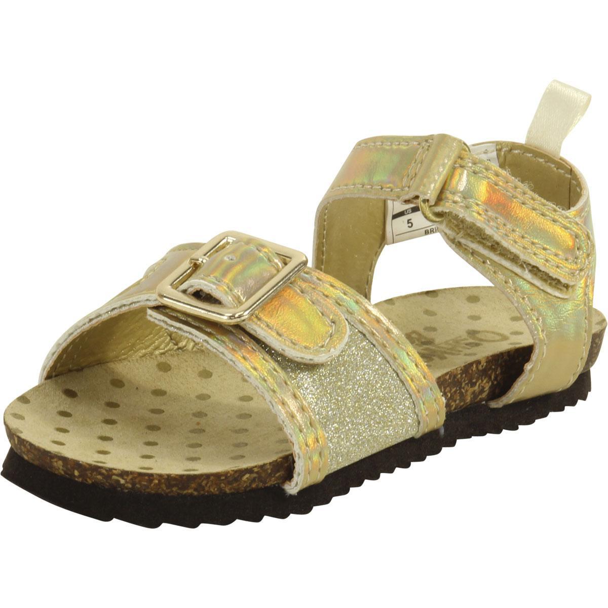 ebb25b319 OshKosh B gosh Toddler Little Girl s Britt Sparkle Sandals Shoes