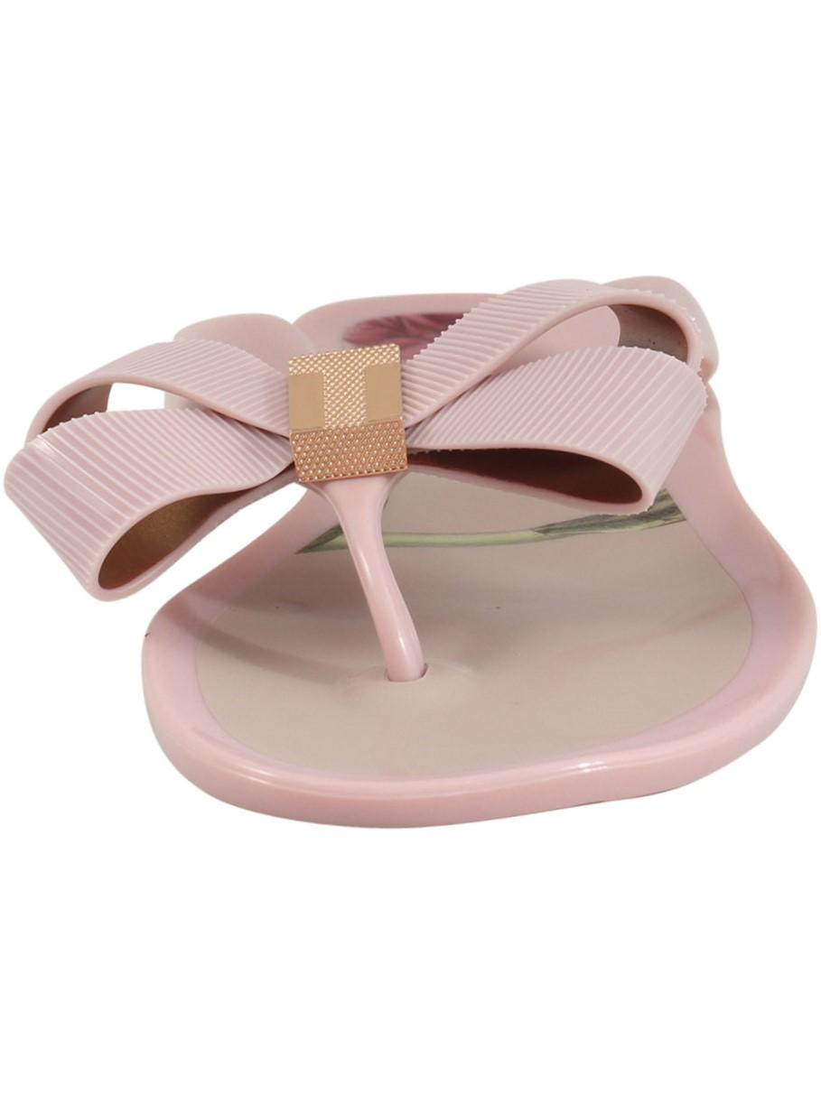 1d4ecd3eaab79d Ted Baker Women s Suszie-P Bow Flip Flops Sandals Shoes