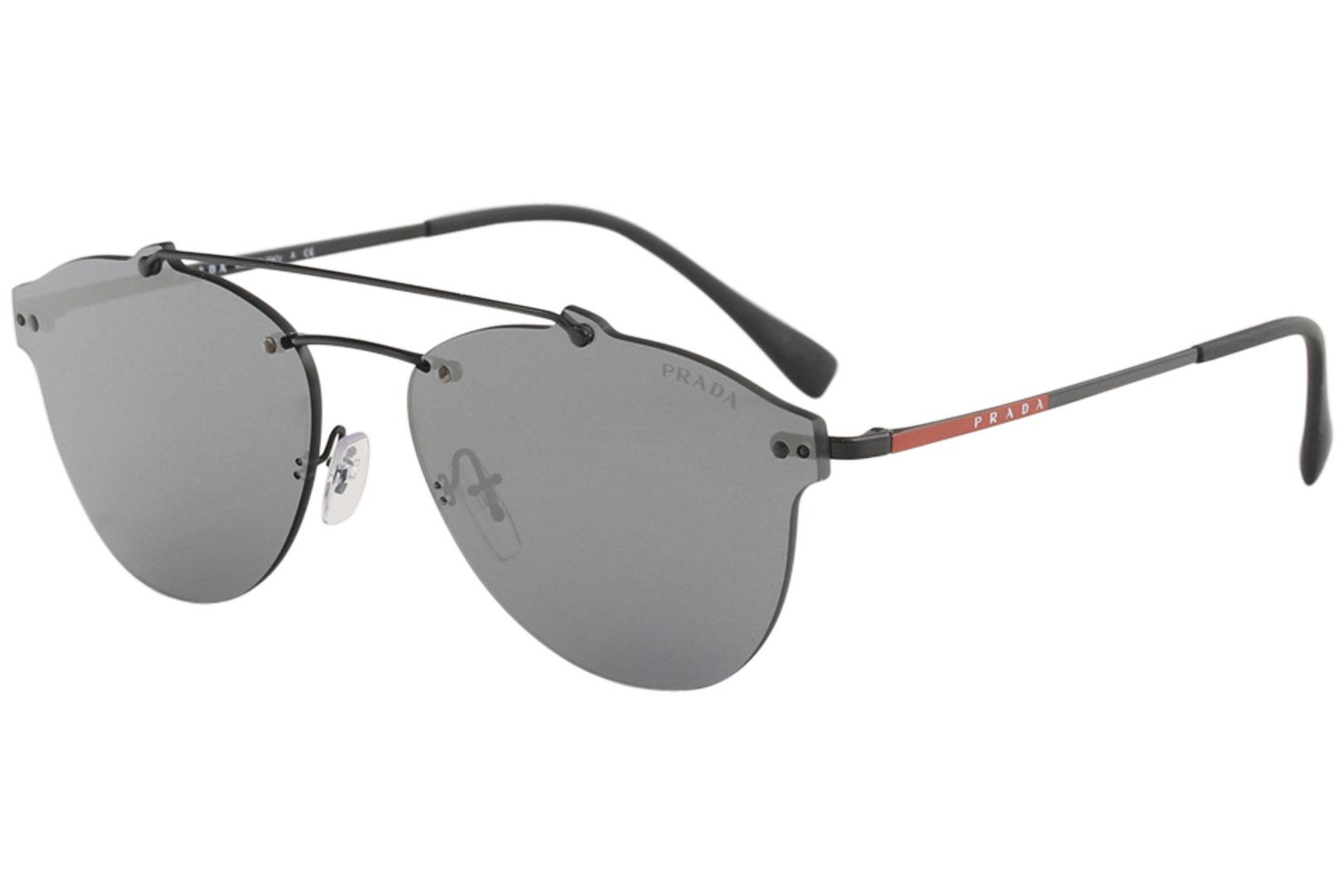 4df589b0703d1 Prada Linea Rossa Men s SPS55T SPS 55T Fashion Pilot Sunglasses