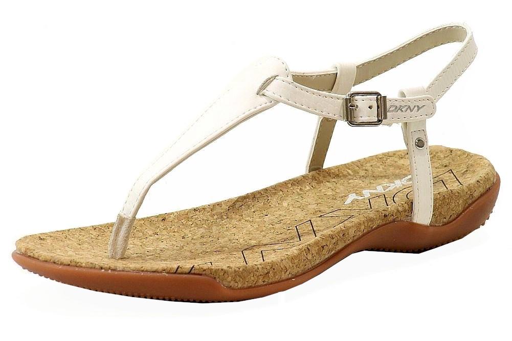 Image of Donna Karan DKNY Women's Sabrina Fashion Sandal Shoes - Ivory - 8
