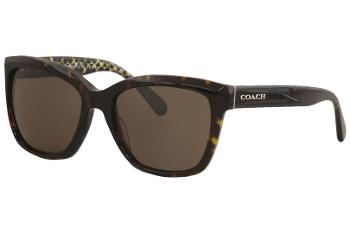 Coach Women's HC8230 HC/8230 Fashion Square Sunglasses