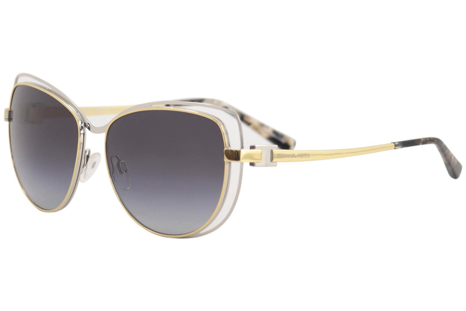 18fdcc87b3 Michael Kors Women s Audrina MK1013 MK 1013 Fashion Cat Eye Sunglasses