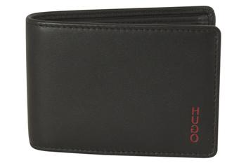 Hugo Boss Men's Subway Genuine Nappa Leather Coin Pouch Wallet