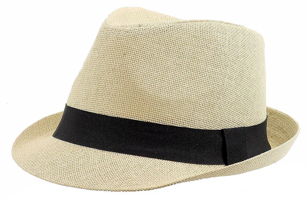 Image of Henschel Men's 3096 Linen Loo Fedora Hat - Beige - Extra Large