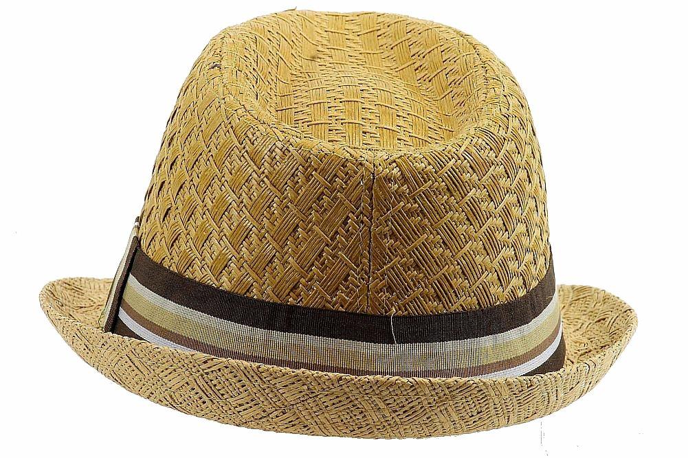 6bf47b9946f8b Henschel Men s 3094 Toyo Straw Basket Weave Fedora Hat by Henschel. 12345