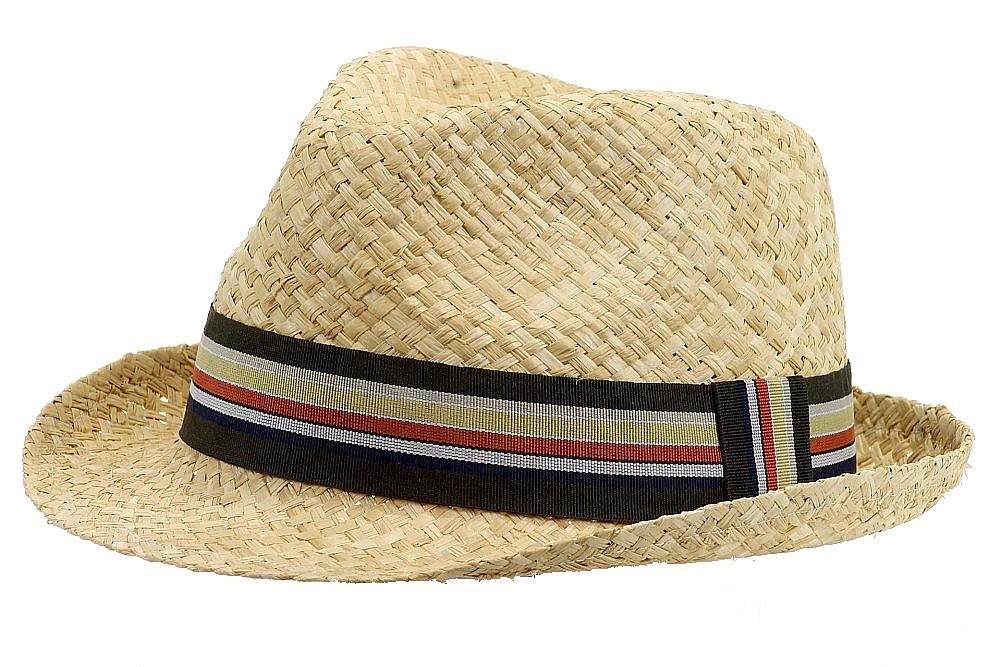ec2b0713717b7 Henschel Men s 3217 Soft Raffia Straw Fedora Hat