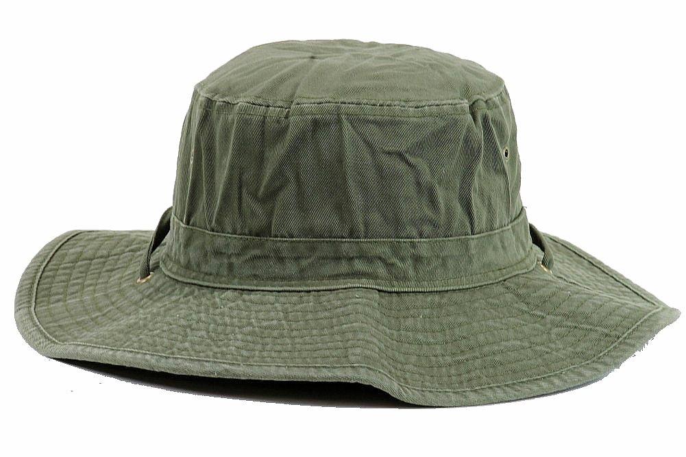 Henschel Men s 5278 Washed Packable Booney Outback Hat by Henschel a8a3ddf3d258
