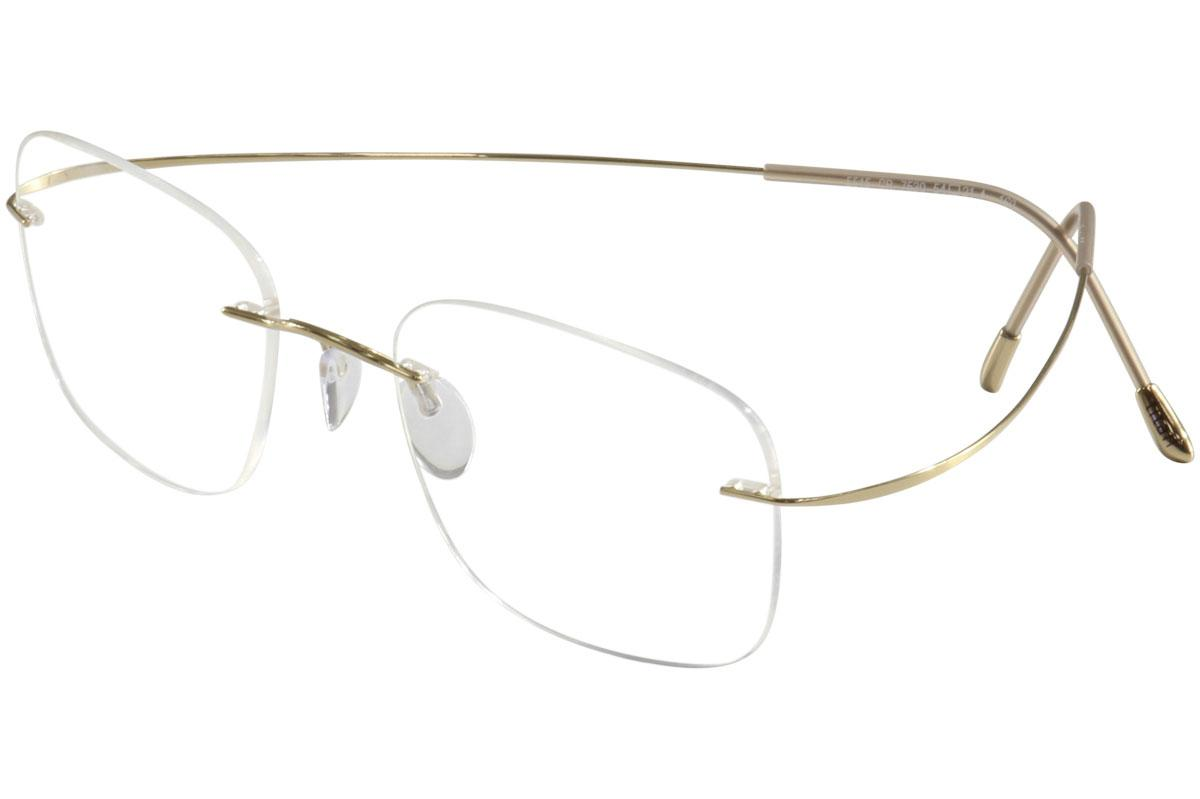 fcaf4efaaa2 Silhouette Eyeglasses TMA Must Collection Chassis 5515 Rimless Optical  Frame by Silhouette. 123456