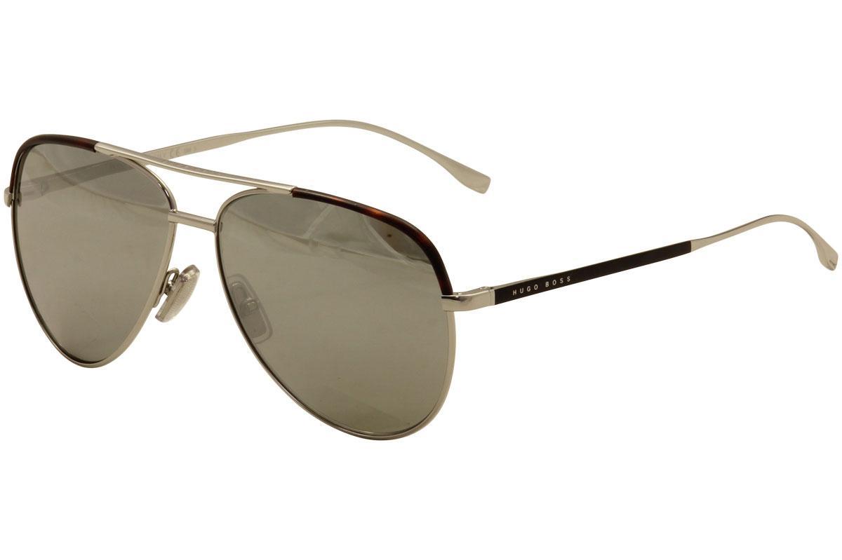 Hugo Boss Men's 0782S 0782/S Pilot Sunglasses