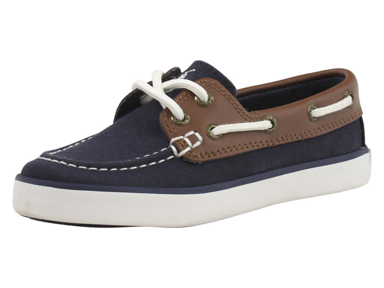Polo Ralph Lauren Little Big Boy s Sander-CL Loafers Boat Shoes 365ae945e6f7