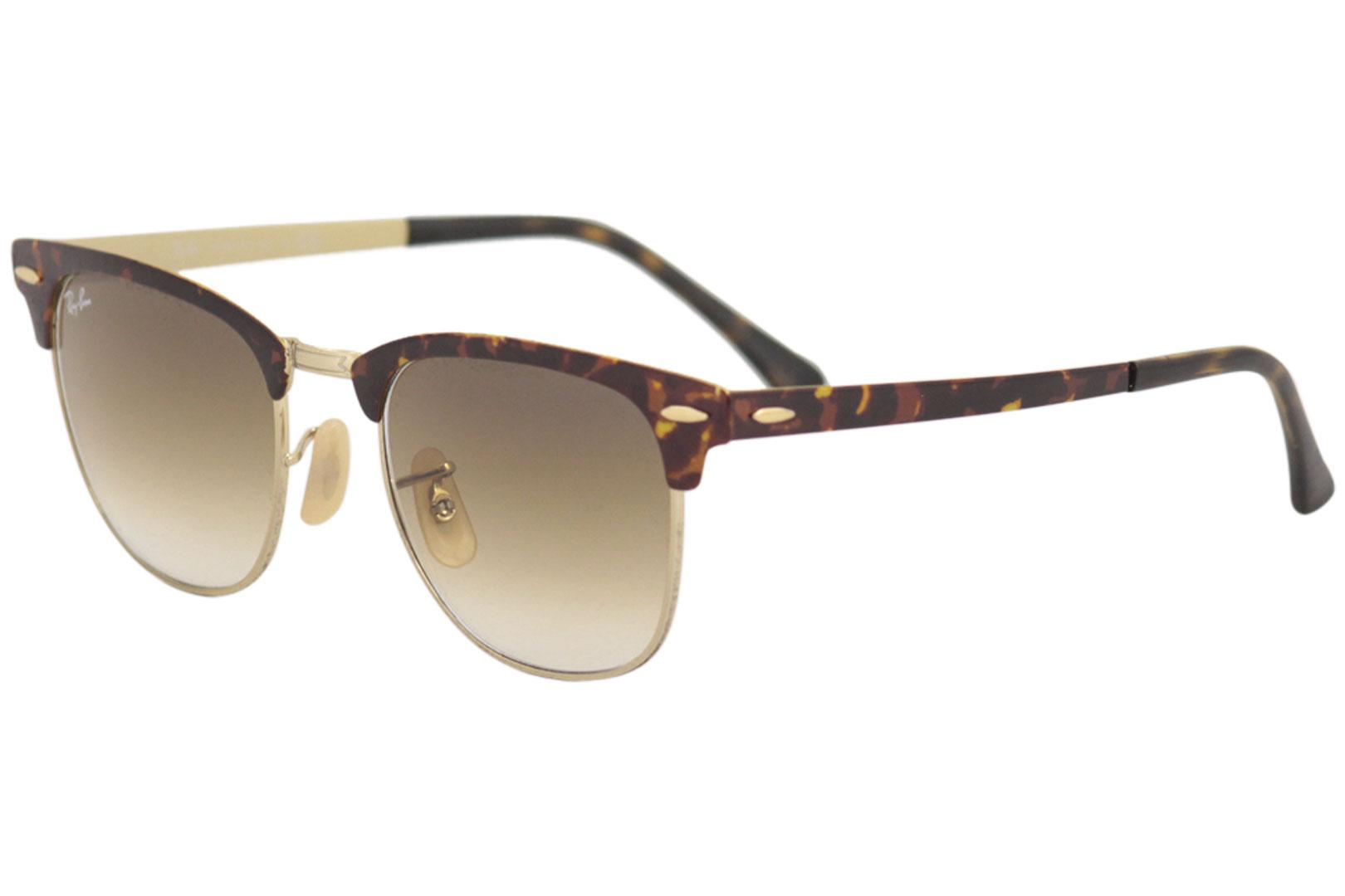 47089013ac Ray Ban Clubmaster RB3716 3716 9008 51 Havana Gold Brown RayBan ...