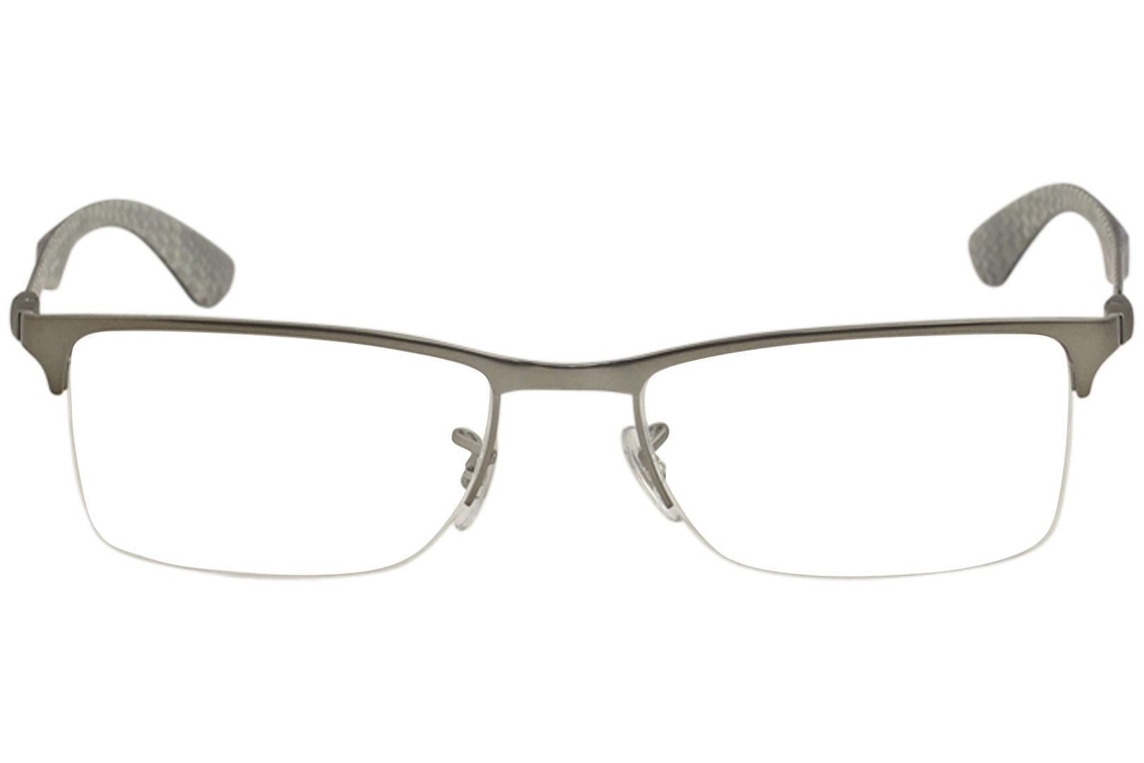 ec20073dce ... order ray ban mens eyeglasses rx8413 rx 8413 rayban half rim optical  frame by ray ban
