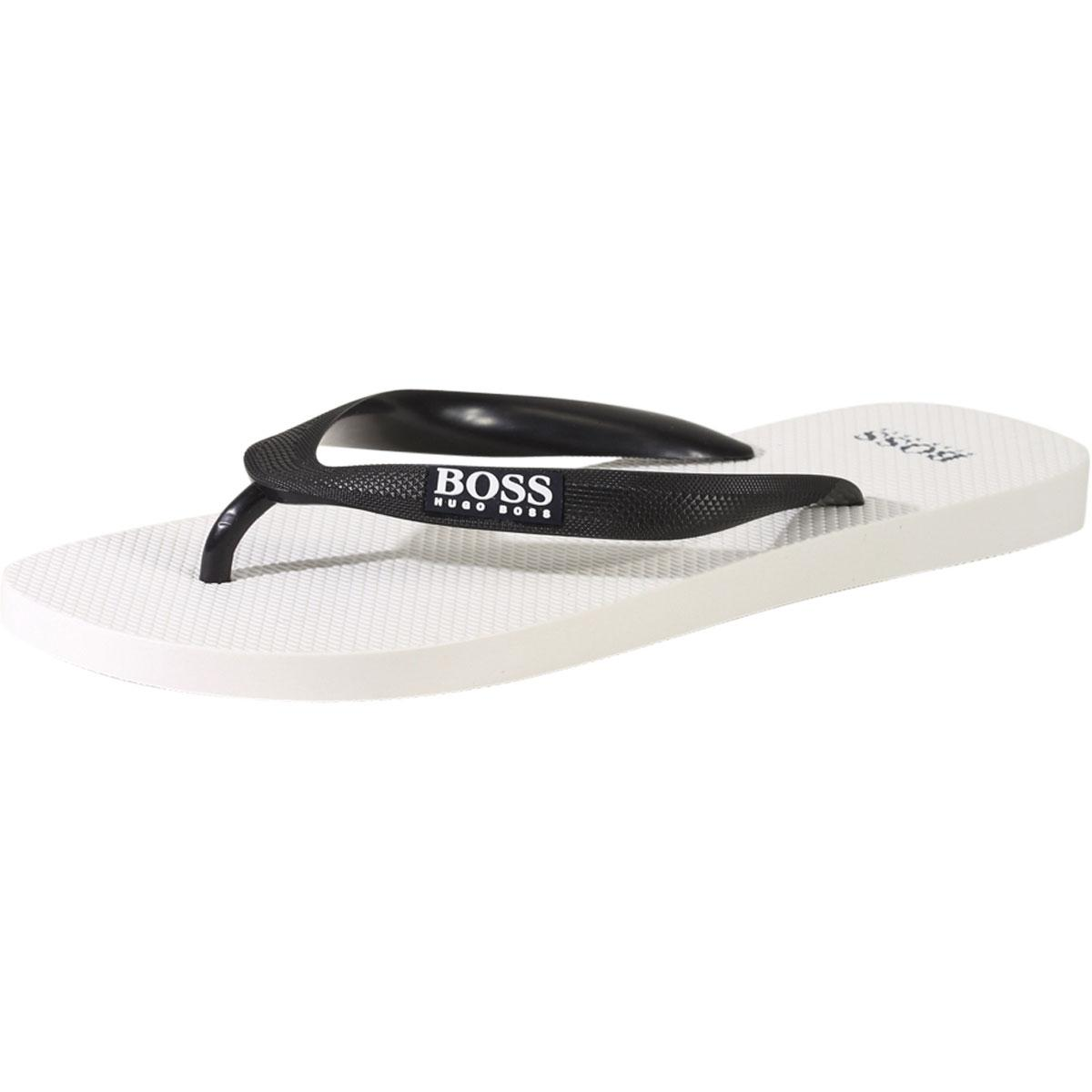 Hugo Boss Men's Wave Flip Flops Sandals Shoes