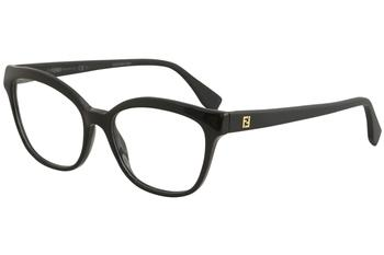 38cfa164a8c5c Fendi Women s Eyeglasses FF0033 FF 0033 Semi Rim Optical Frame