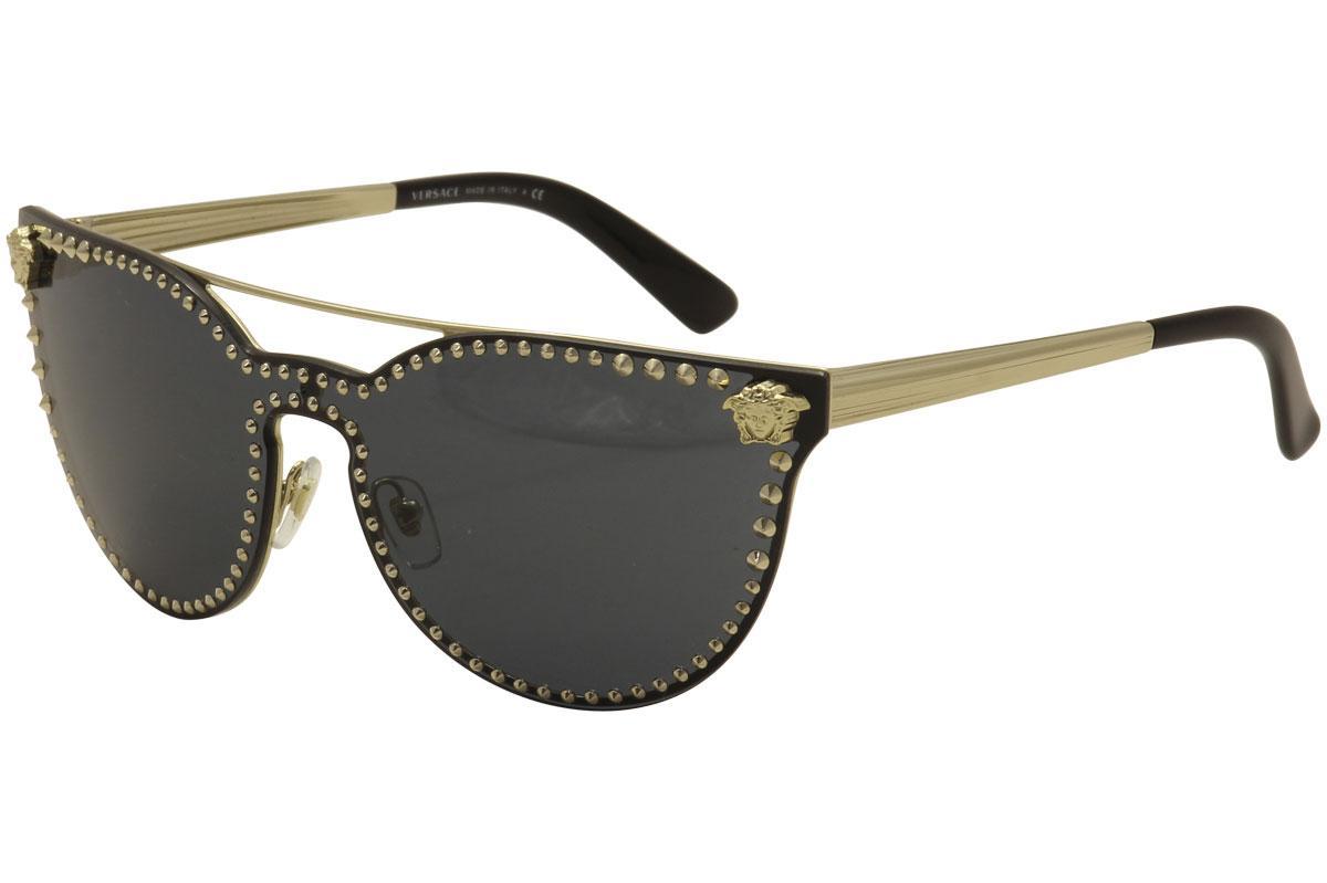 aa7759df7c1 Versace Women s VE2177 VE 2177 Fashion Cat Eye Sunglasses by Versace