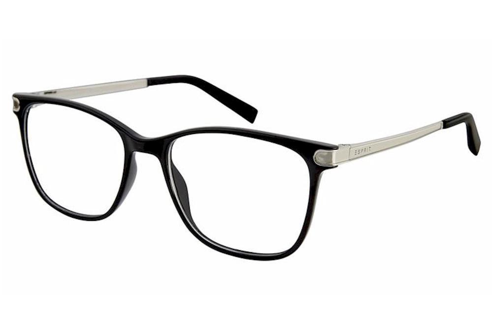 Image of Esprit Women's Eyeglasses ET17548 ET/17548 Full Rim Optical Frame - Black   538 - Lens 51 Bridge 16 Temple 135mm