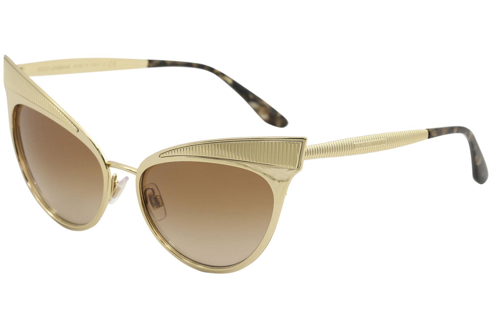 a29f586715 Dolce & Gabbana Women's D&G DG2178 DG/2178 Fashion Cat Eye Sunglasses by  Dolce & Gabbana