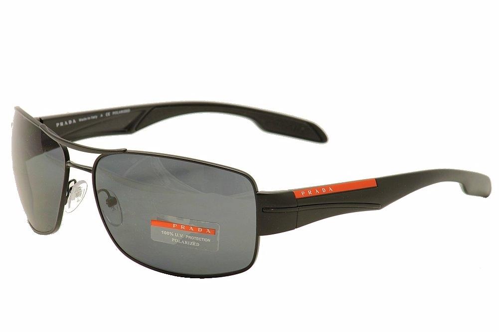 Image of Prada Linea Rossa SPS53N SPS/53N Pilot Sunglasses - Black - Lens 65 Bridge 16 Temple 130mm