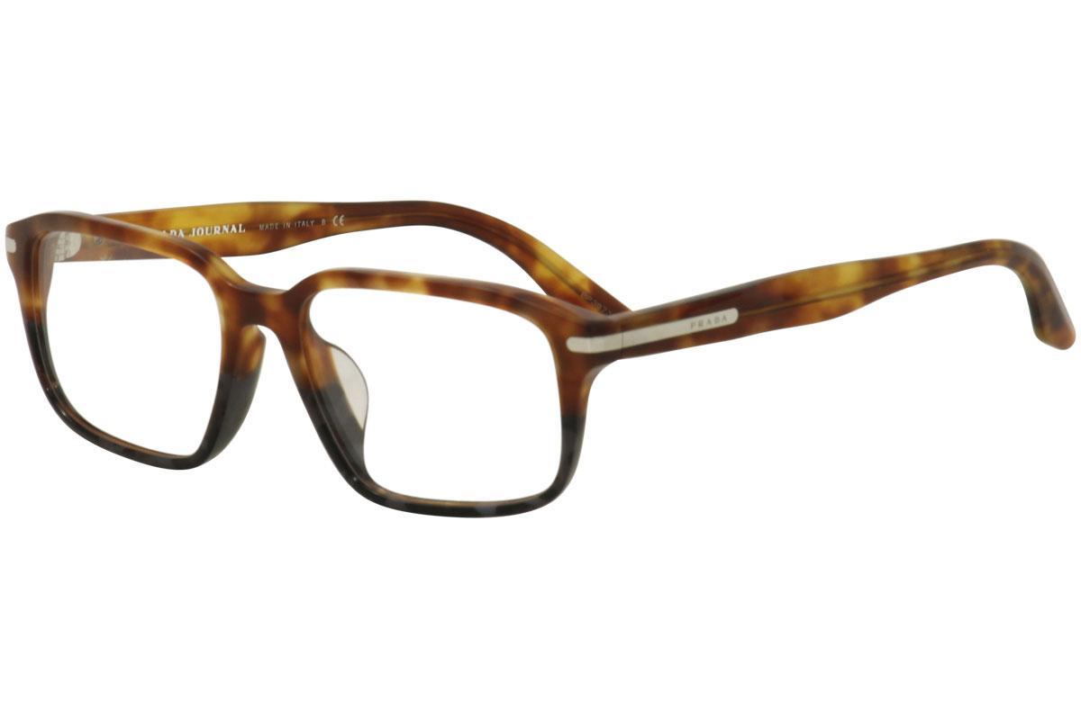 Prada Men\'s Eyeglasses VPR09TF VPR/09/TF Full Rim Optical Frame