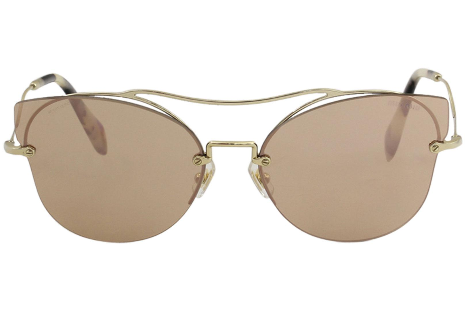 36ce08c1f74 Miu Miu Women s SMU52S SMU 52S Fashion Cat Eye Sunglasses