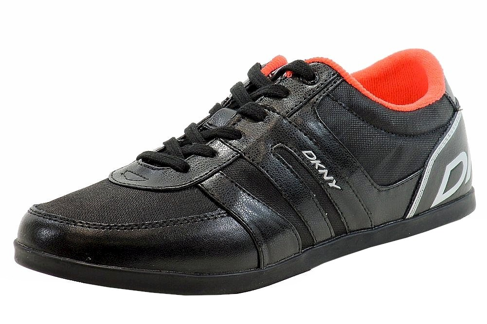 Image of Donna Karan DKNY Women's Andie Fashion Sneaker Shoes - Black - 8.5