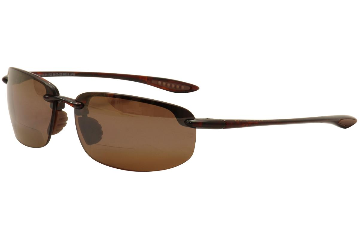82834d90c0 Maui Jim Men s Readers Ho okipa MJ 807N 807 N Polarized Bifocal Sunglasses