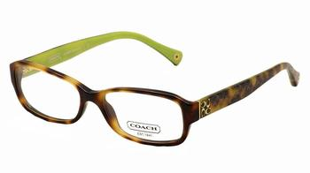 Coach Eyeglasses Woman s Danielle HC6003 HC 6003 Black Optical Frame Lens-53 Bridge-15 Temple-135mm