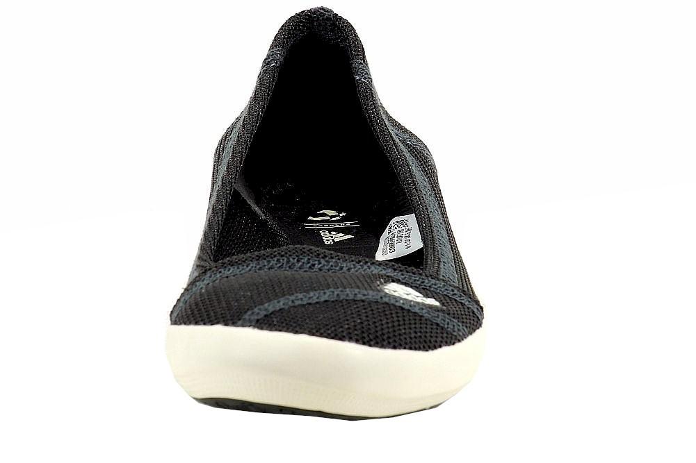 adidas women s boat slip on sleek ballet flat shoes write a review