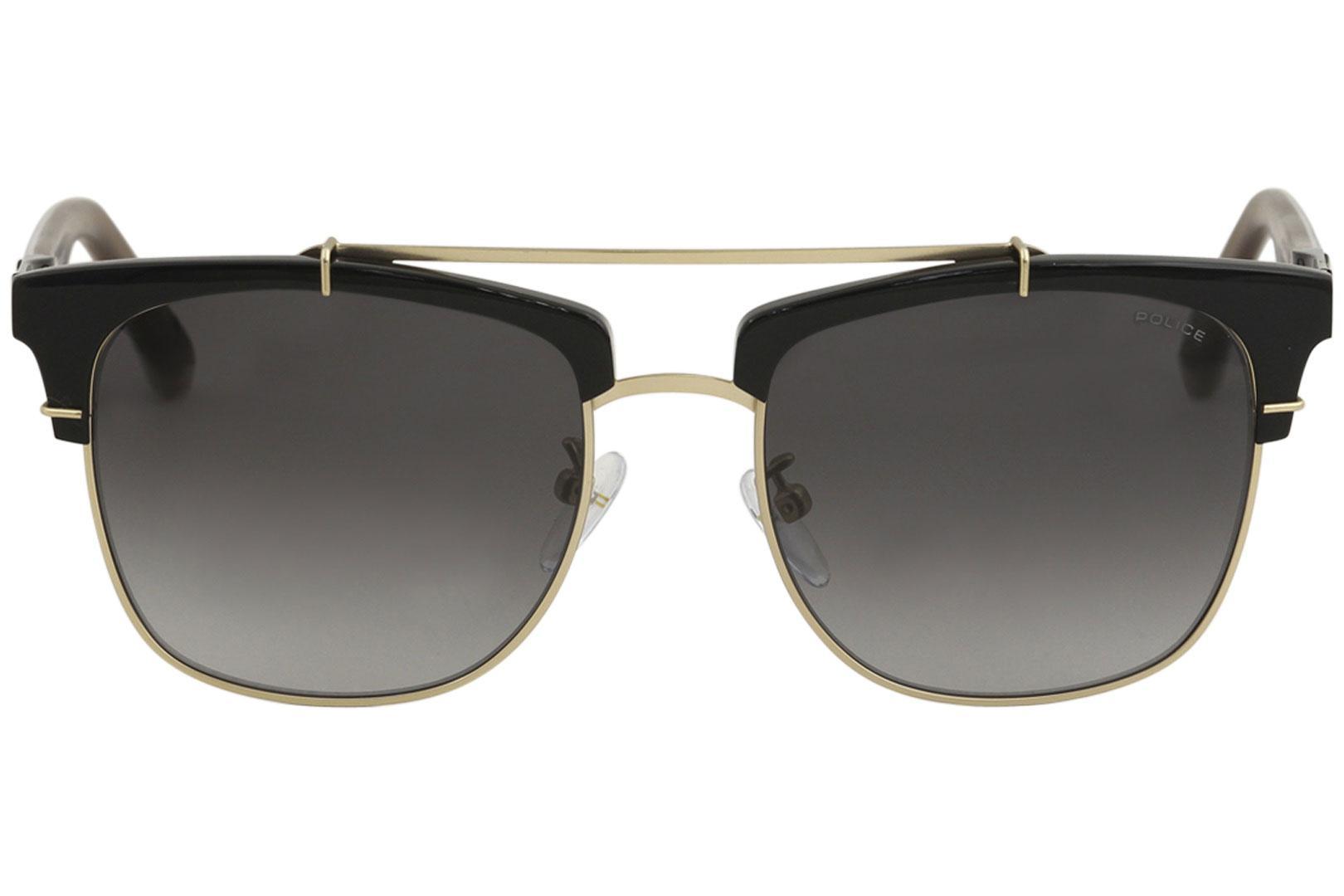 Block Police Fashion 2 Pilot Men's Sunglasses Spl494 CBoWdxre