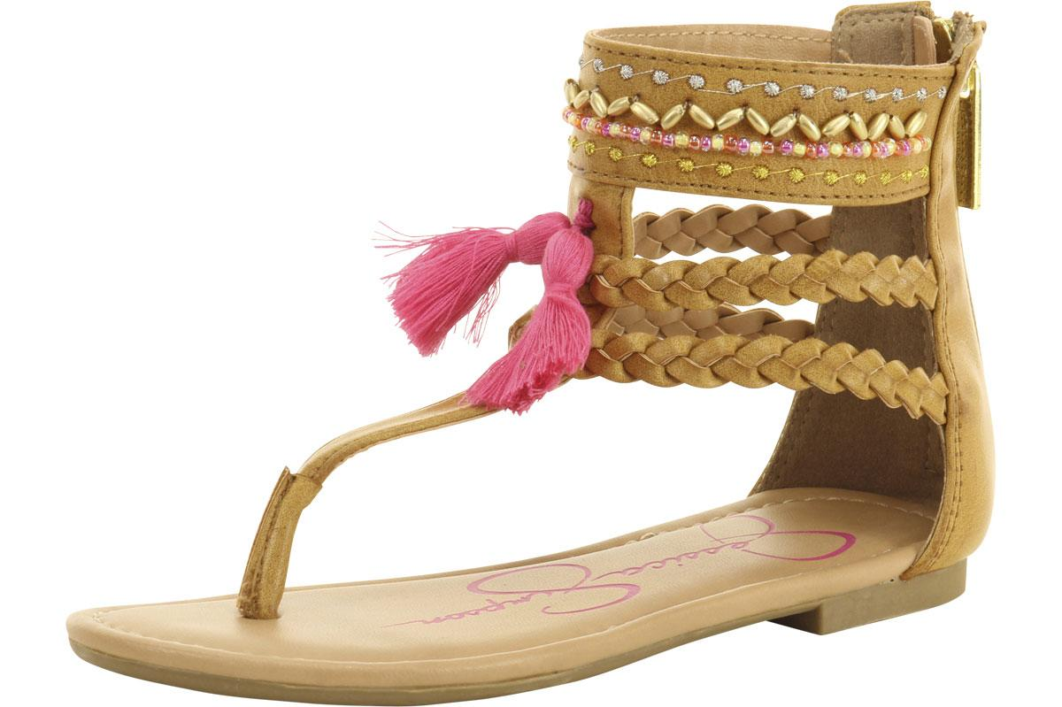 50190acf80b2 Jessica Simpson Little Big Girl s Kristen Gladiator Sandals Shoes by Jessica  Simpson