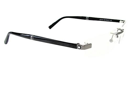 bbff3c3def Mont Blanc Eyeglasses MB9101 MB 9101 Rimless Optical Frame by Mont Blanc