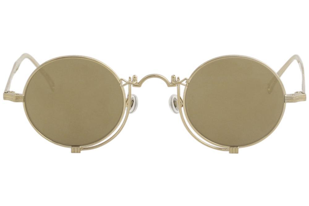 766c6c8ad Matsuda Men's 10601H 10601/H Fashion Round Sunglasses by Matsuda