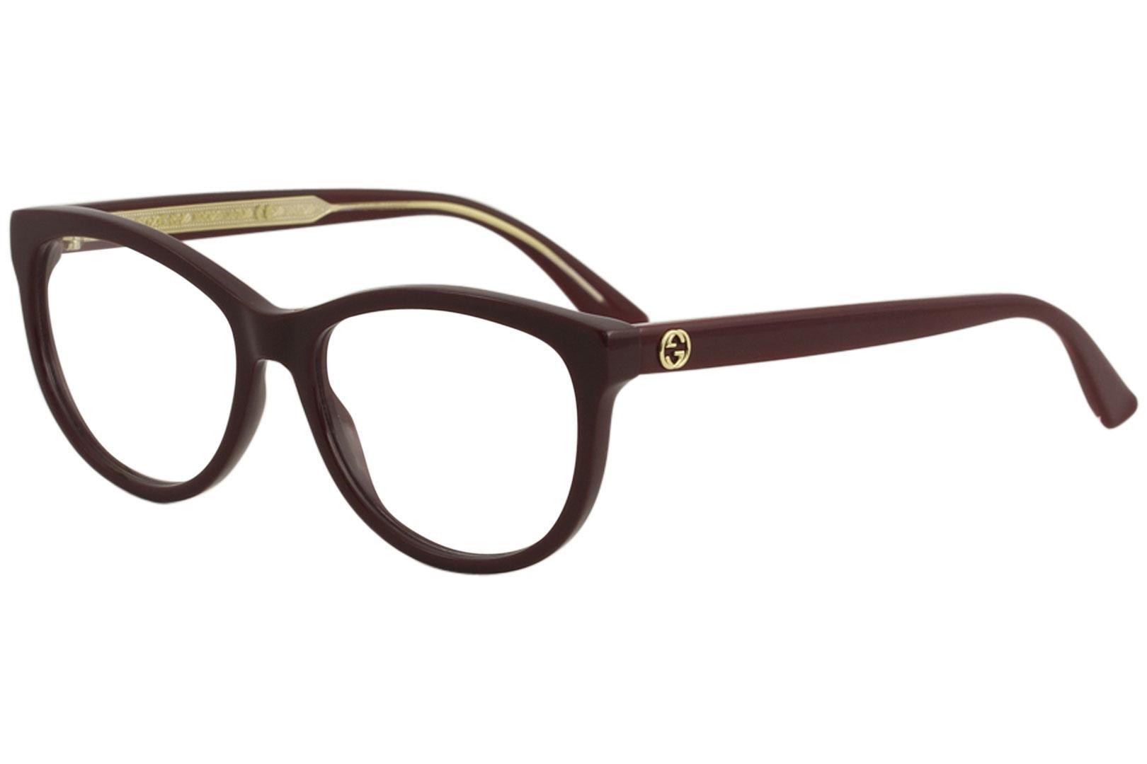 Gucci Women\'s Eyeglasses GG0310O GG/0310/O Full Rim Optical Frame
