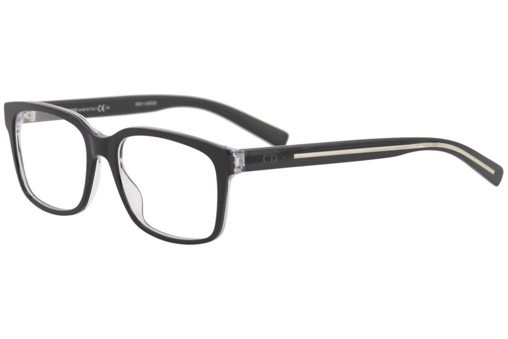 81c5dd1cb66e Christian Dior Men s Blacktie Eyeglasses GHA203 GHA 203 Full Rim Optical  Frame