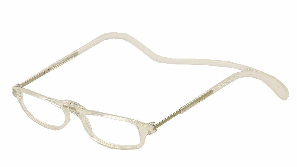 Image of Clic Reader Eyeglasses City Readers Full Rim Magnetic Reading Glasses - Clear - Power +1.50